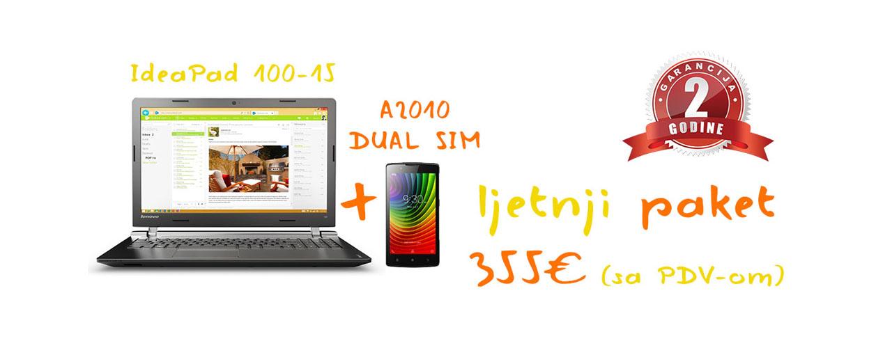Ljetnja akcija lenovo laptop i telefon