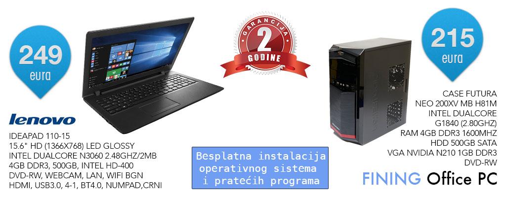 kancelariski ili kucni racunar i laptop