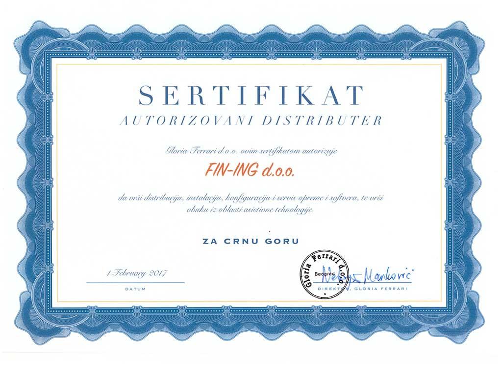 sertifikat landscape